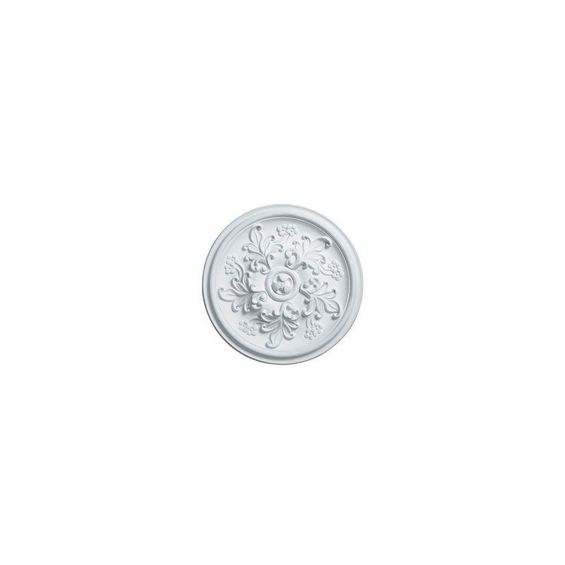 "Ekena Millwork CM14KT 14.5"" Wide Katheryn Ceiling Medallion White"
