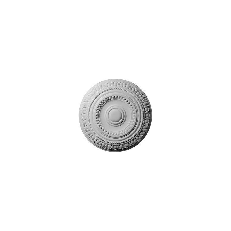 """Ekena Millwork CM15AR 15.75"""" Wide Artis Ceiling Medallion White"""
