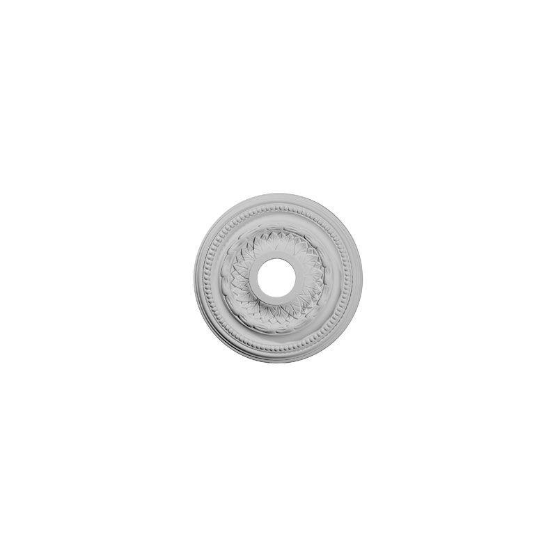 "Ekena Millwork CM15GA 15.75"" Wide Galway Ceiling Medallion White"