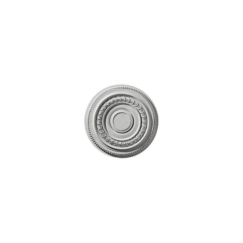 "Ekena Millwork CM18OL 18"" Wide Oldham Ceiling Medallion White"