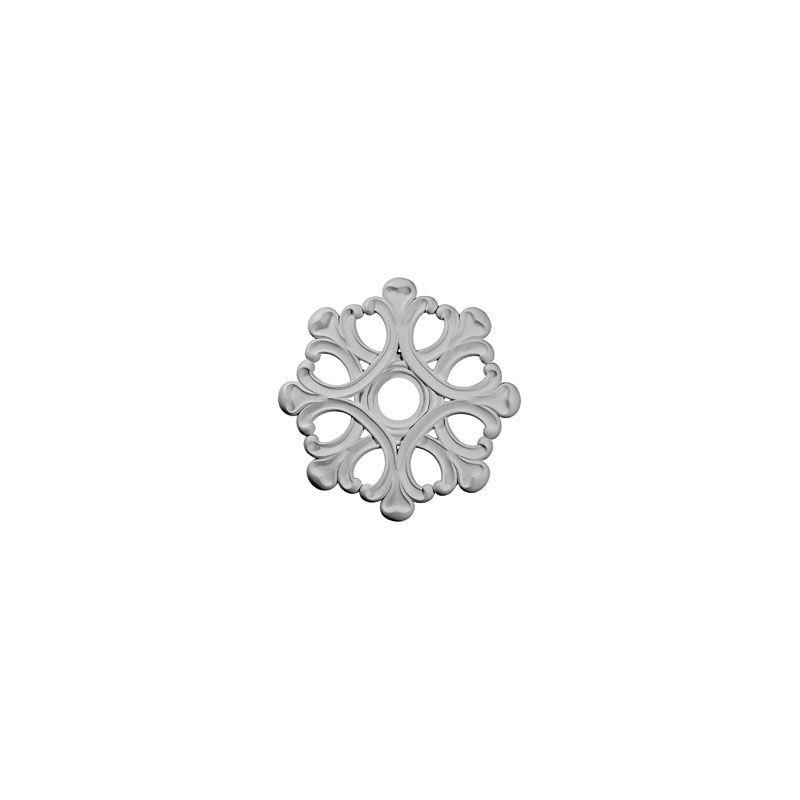 "Ekena Millwork CM20AN 20.875"" Wide Angel Ceiling Medallion White"