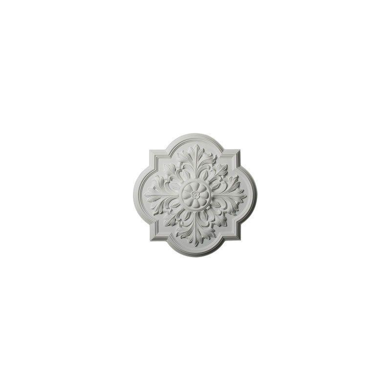 """Ekena Millwork CM20BO 20"""" Wide Bonetti Ceiling Medallion White"""