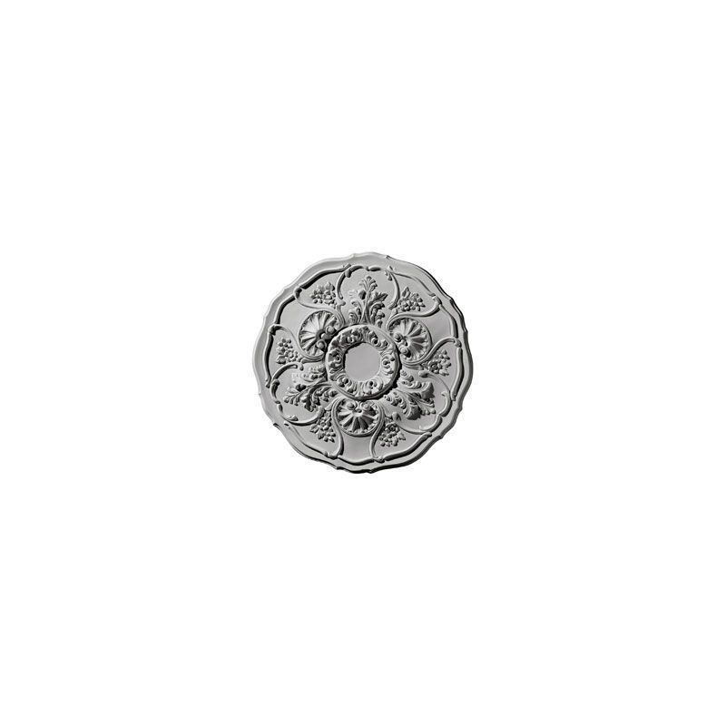 "Ekena Millwork CM22CN 22.5"" Wide Cornelia Ceiling Medallion White"