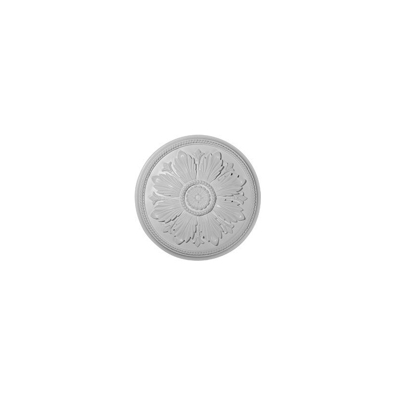 "Ekena Millwork CM23KA 23.625"" Wide Kaya Ceiling Medallion White"