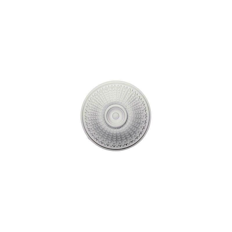 """Ekena Millwork CM23MO 23.5"""" Wide Modena Ceiling Medallion White"""