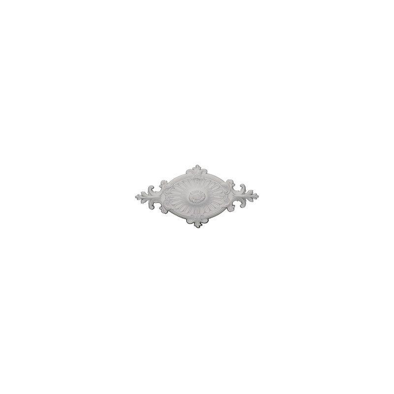 "Ekena Millwork CM23RO1 23.5"" Wide Quentin Ceiling Medallion White"