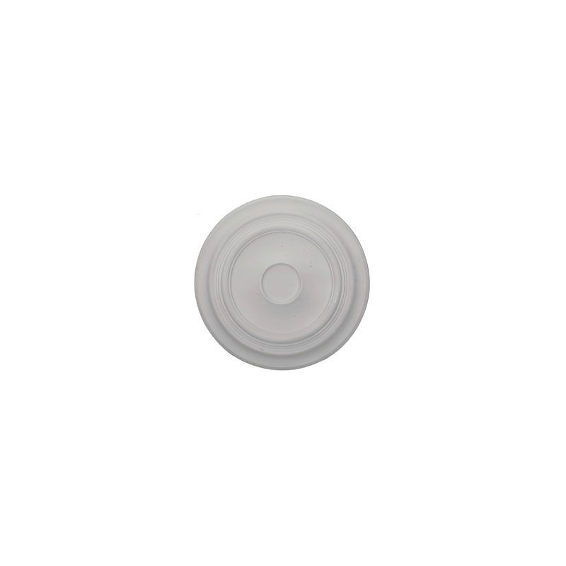 "Ekena Millwork CM24TR 24.375"" Wide Traditional Ceiling Medallion White"