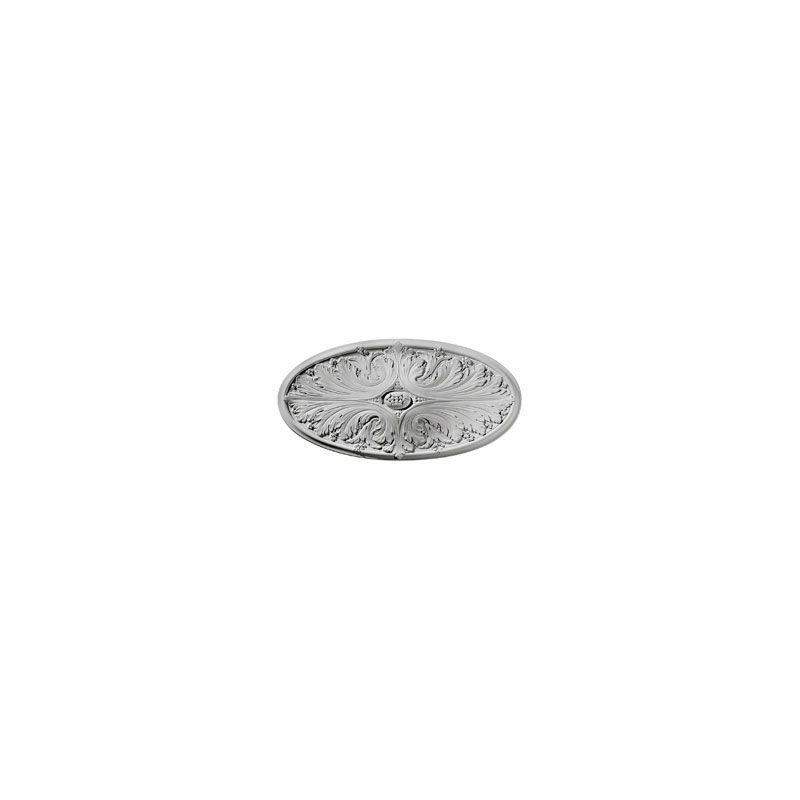"Ekena Millwork CM24X12MA 24.75"" Wide Madrid Ceiling Medallion White"