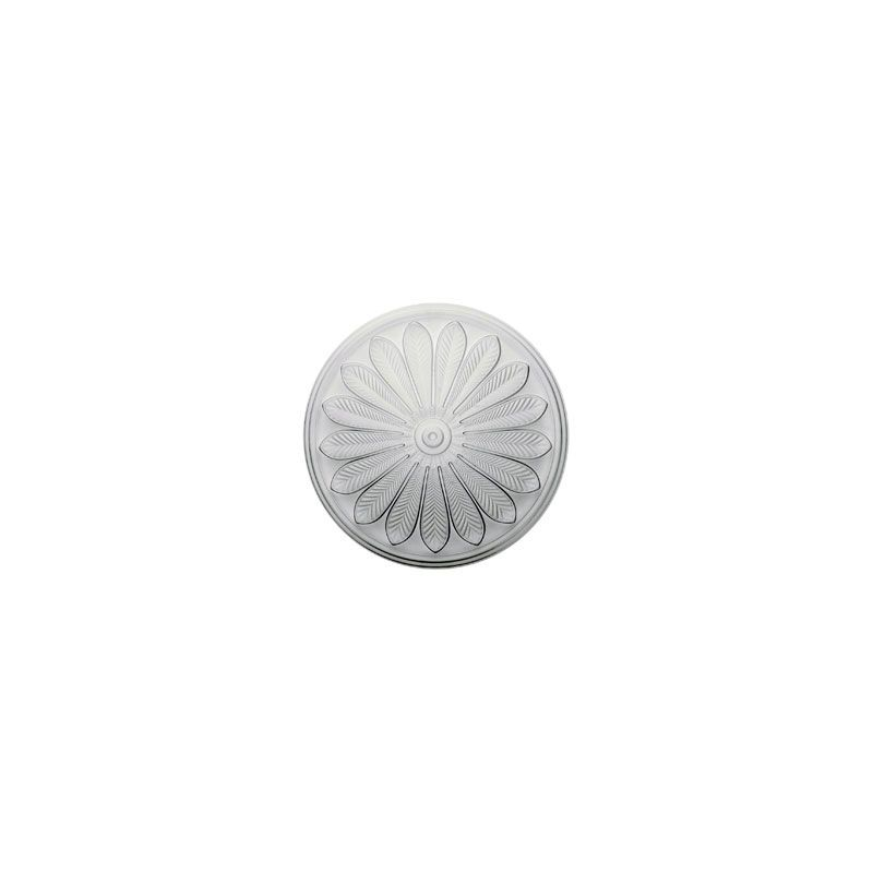 "Ekena Millwork CM25BR 25.5"" Wide Brontes Ceiling Medallion White"