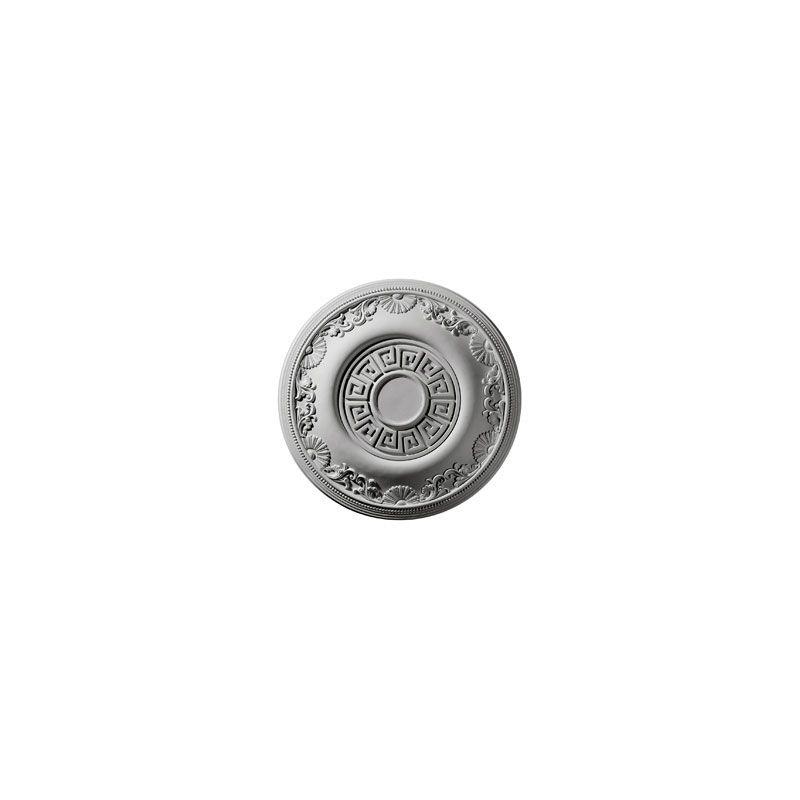 """Ekena Millwork CM25NE 25.875"""" Wide Nestor Ceiling Medallion White"""