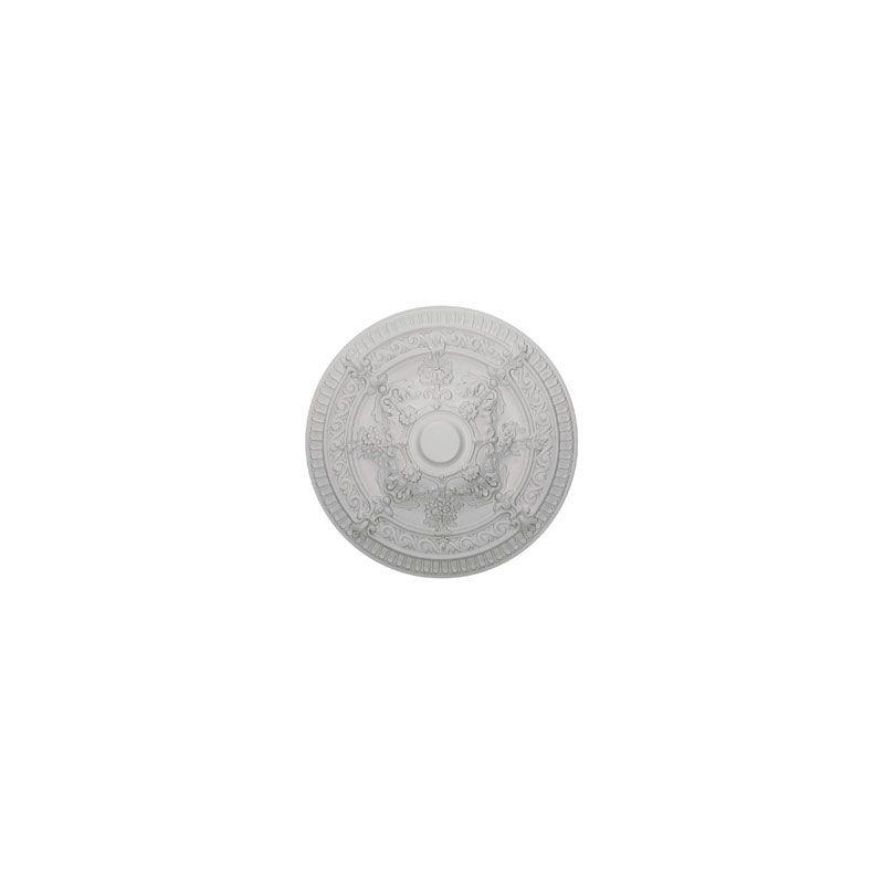 "Ekena Millwork CM26VI 26"" Wide Vincent Ceiling Medallion White"