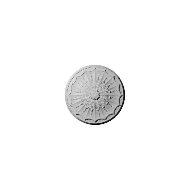 """Ekena Millwork CM27AR 27.125"""" Wide Artis Ceiling Medallion White"""