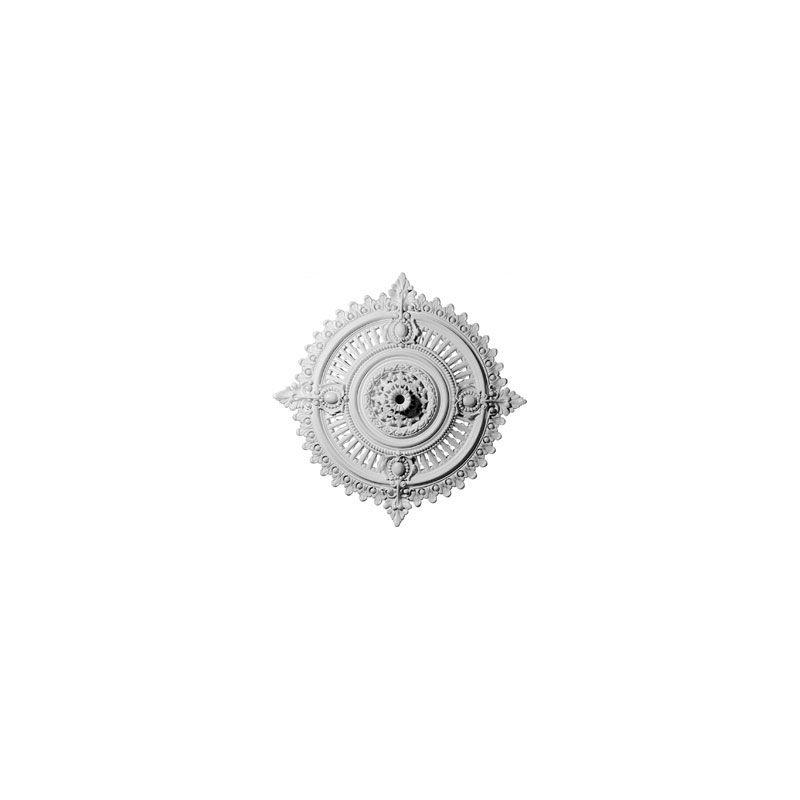 "Ekena Millwork CM29HY 29.125"" Wide Haylynn Ceiling Medallion White"