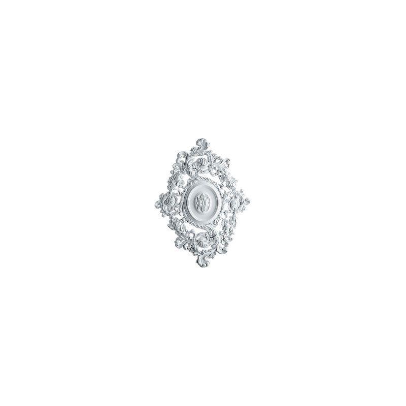 "Ekena Millwork CM30KT 29.5"" Wide Katheryn Ceiling Medallion White"