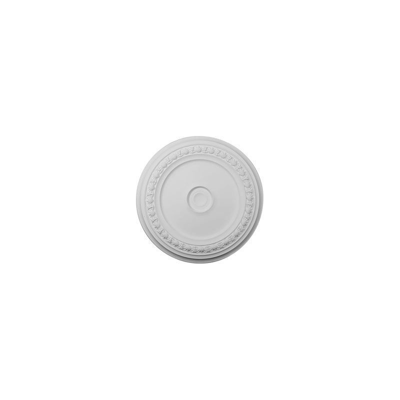 "Ekena Millwork CM31CA 31.125"" Wide Carlsbad Ceiling Medallion White"