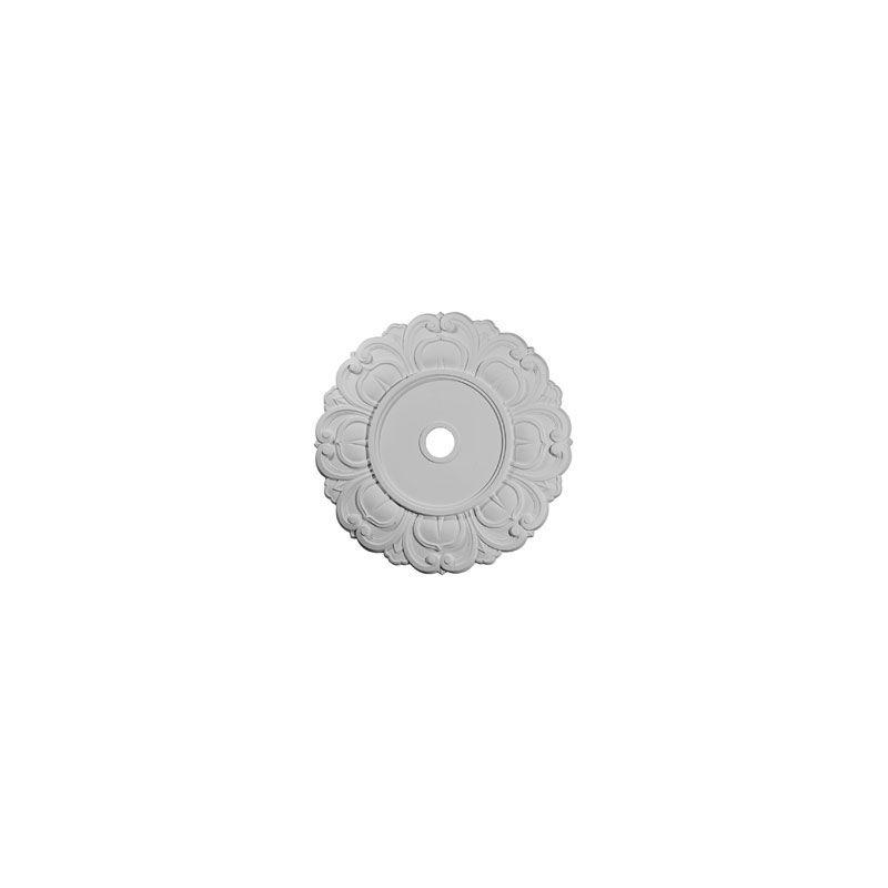 "Ekena Millwork CM32AN 32.25"" Wide Angel Ceiling Medallion White"