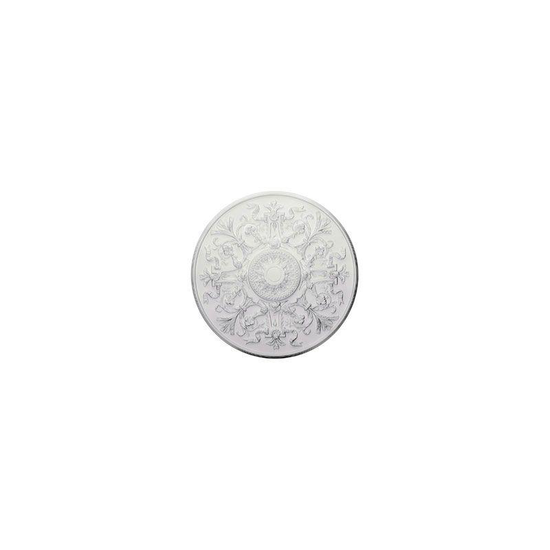 "Ekena Millwork CM33VE 33"" Wide Versailles Ceiling Medallion White"