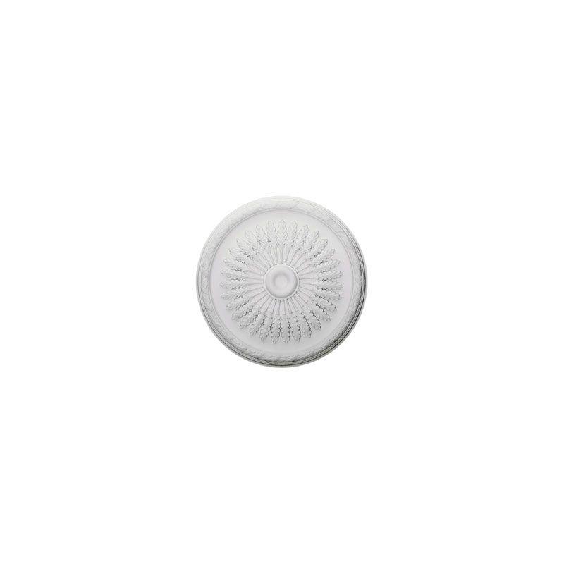 """Ekena Millwork CM36JU 36"""" Wide Juniper Ceiling Medallion White"""