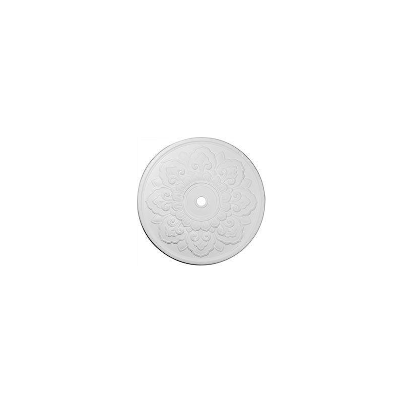 "Ekena Millwork CM50LO 50.125"" Wide Lorry Ceiling Medallion White"