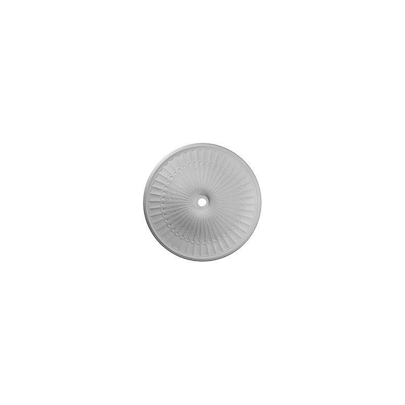 """Ekena Millwork CM51GL 51"""" Wide Galveston Ceiling Medallion White"""