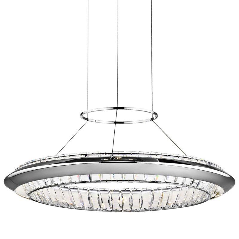 Elan Joez Pendant Joez Pendant Chrome Indoor Lighting Sale $1097.80 ITEM: bci2781630 ID#:83621 UPC: 887913836212 :