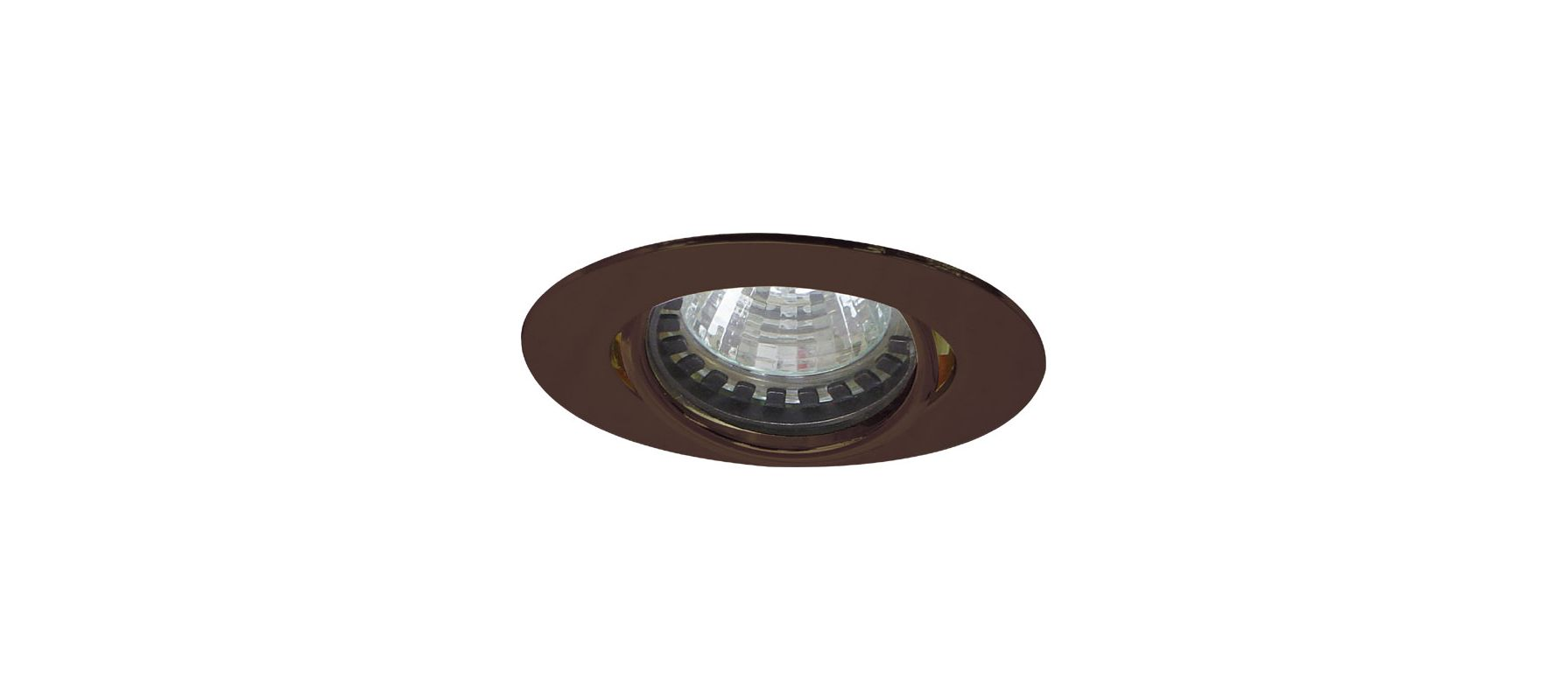 Elco E222 Mini MR11 Downlight with Diecast Aluminum Gimbal Ring Bronze