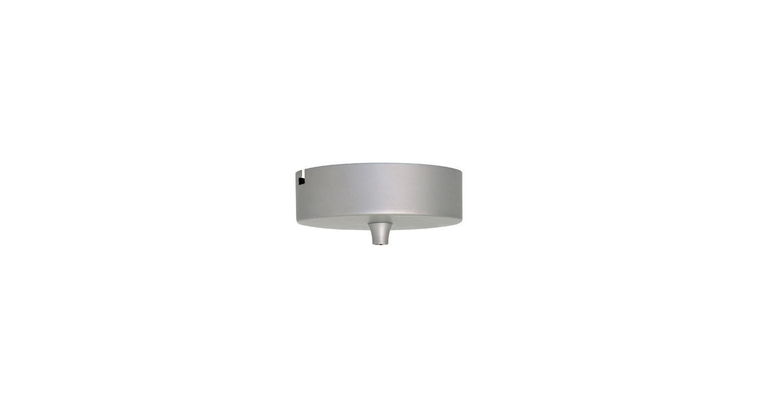 Elco ECF Flat Canopy with 50W Transformer for Low Voltage Pendants
