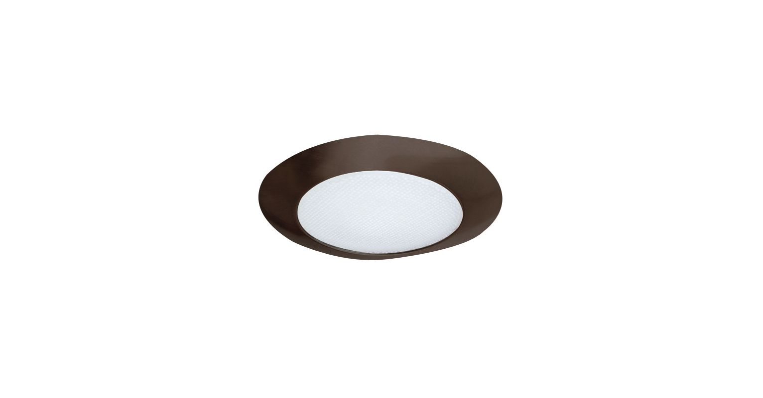 Elco EL112 6&quote CFL IC Shower Trim with Reflector and Frosted Lens