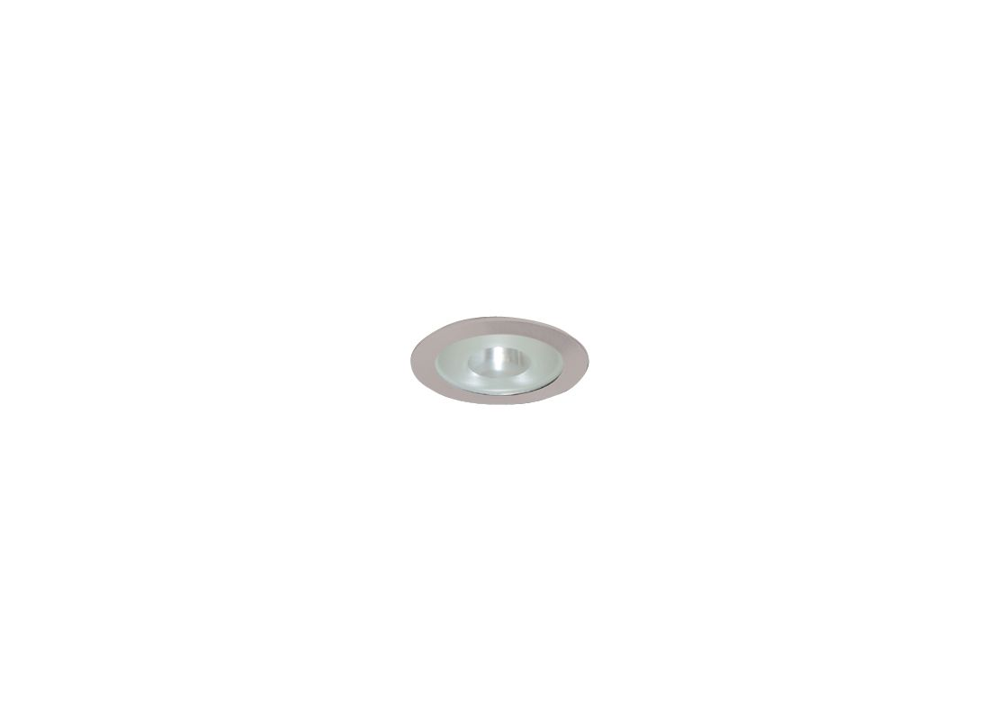 "Elco EL1415 4"" Low Voltage Adjustable Shower Trim with Frosted Pinhole"