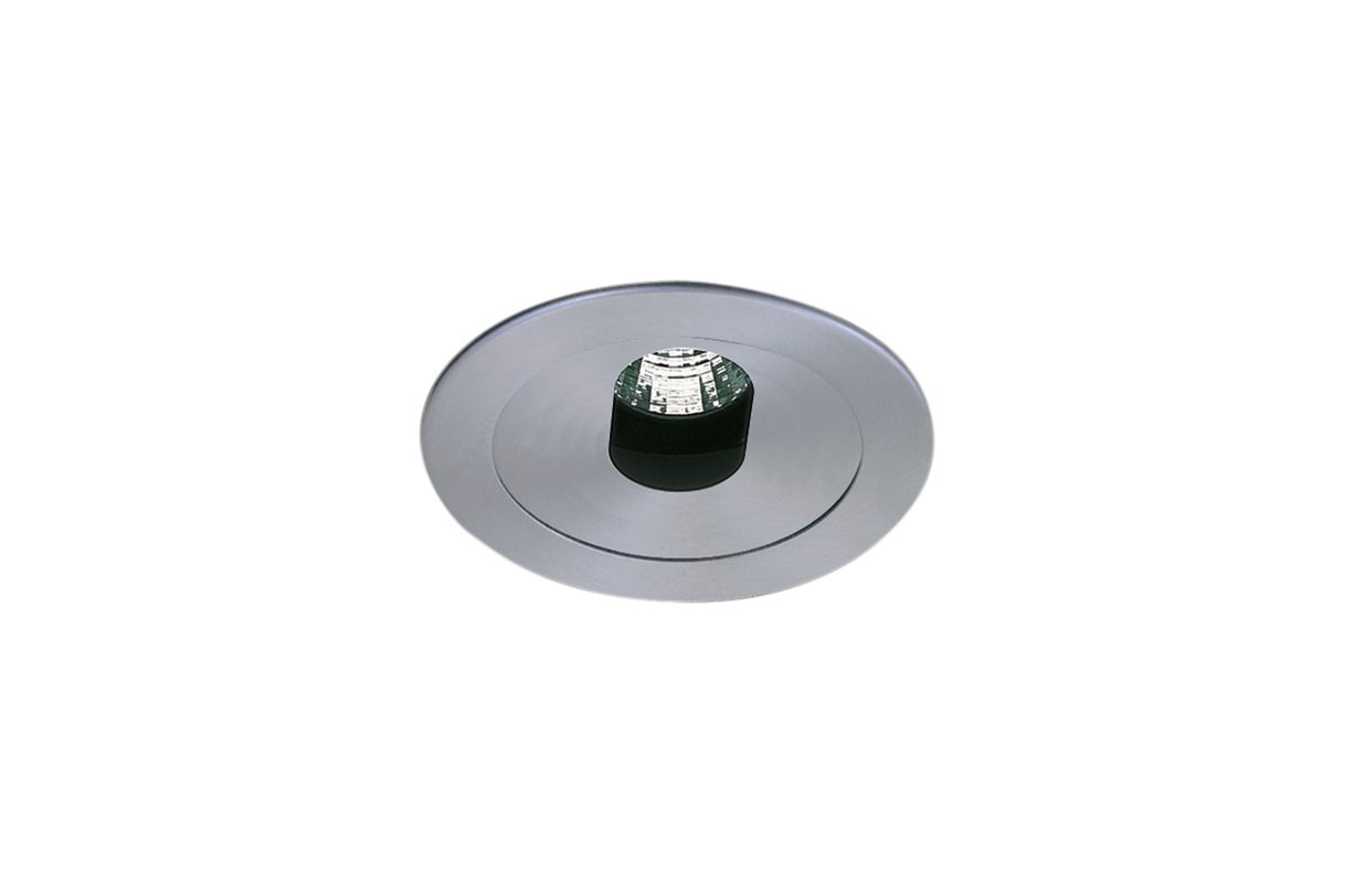 "Elco EL1420 4"" Low Voltage Adjustable Slot Aperture Nickel Recessed"