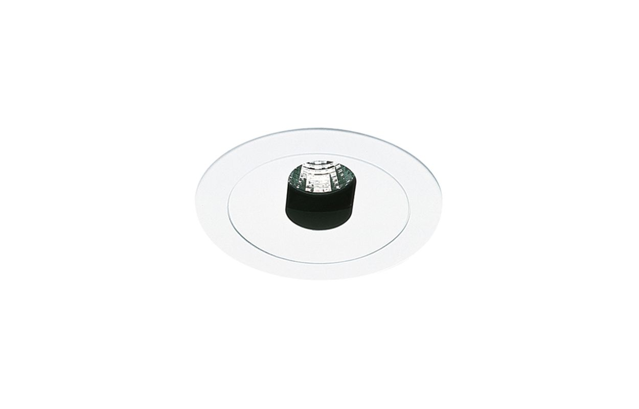 "Elco EL1420 4"" Low Voltage Adjustable Slot Aperture White Recessed"