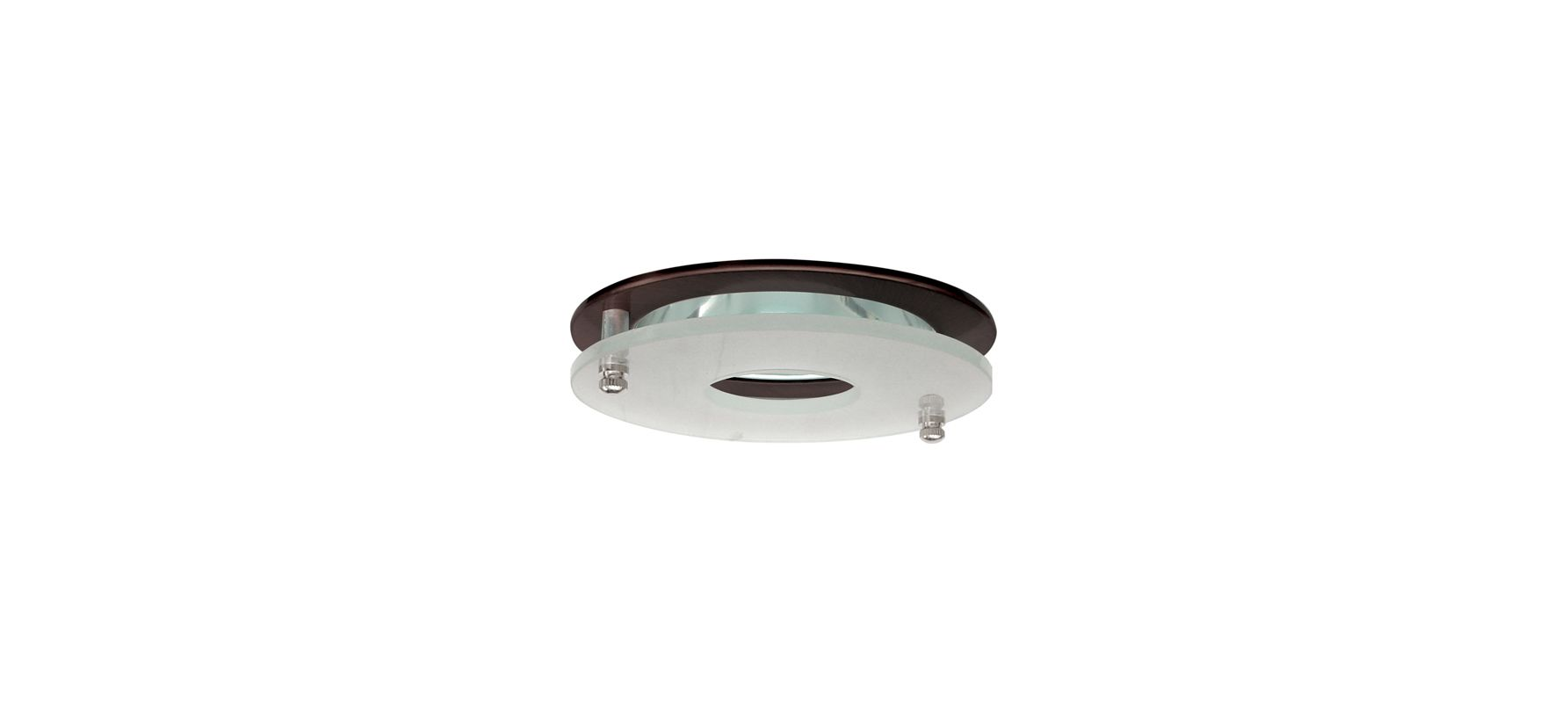 "Elco EL1426 4"" Low-Voltage Adjustable Clear Reflector with Suspended"
