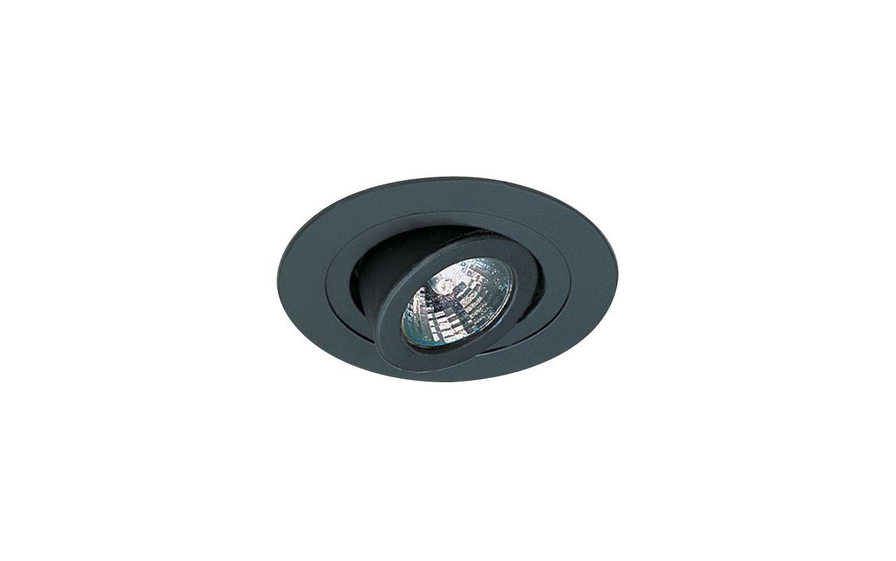 """Elco EL1488 4"""" Low Voltage Adjustable Spot Trim Black Recessed Lights"""