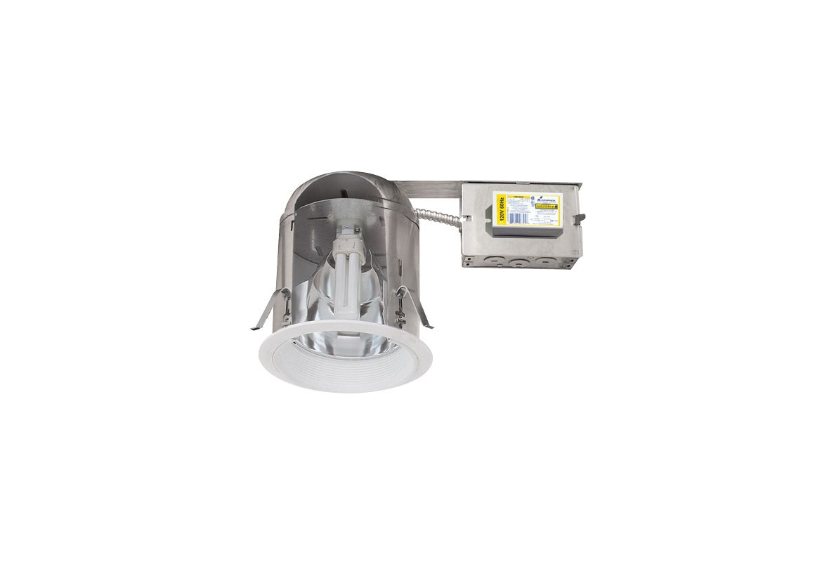 "Elco EL27RHE26ICA 6"" IC Airtight Vertical CFL Remodel Downlight N/A"