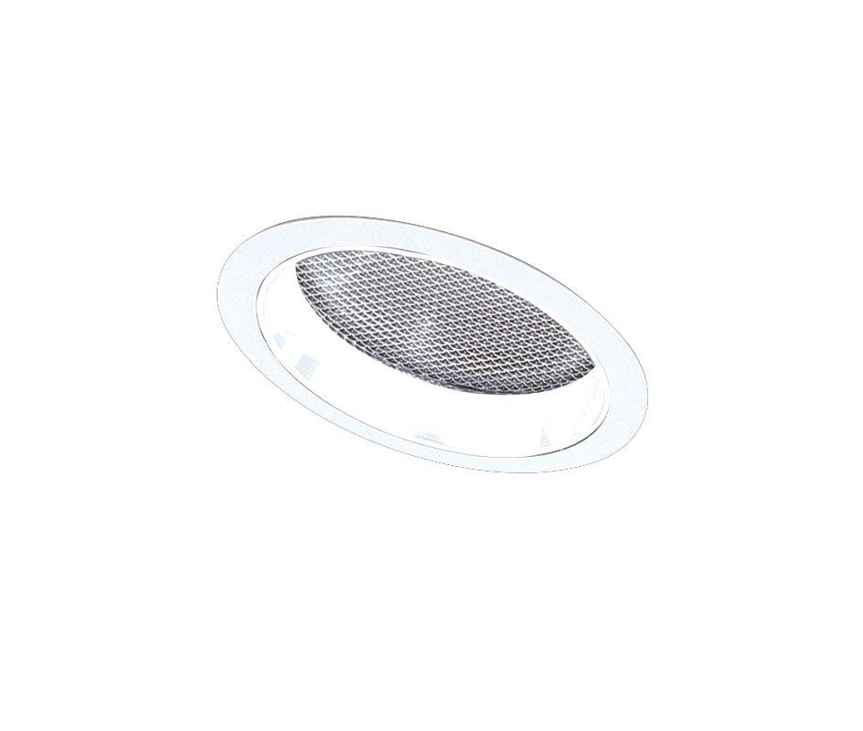 "Elco EL642 6"" CFL Sloped Reflector with Regressed Albalite Lens Trim"