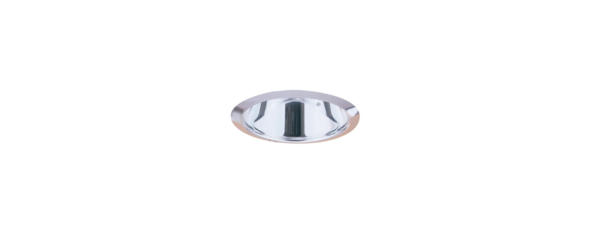"Elco EL901 4"" Airtight Smooth Cone Reflector Trim Clear Recessed"
