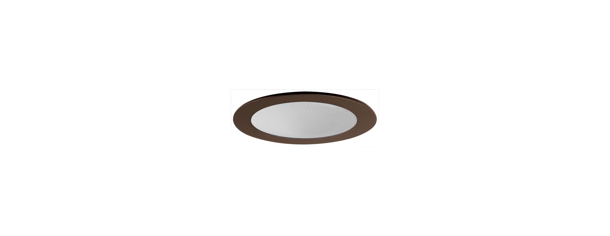 "Elco EL9114 4"" CFL Shower Trim with Albalite Lens and Reflector Bronze"
