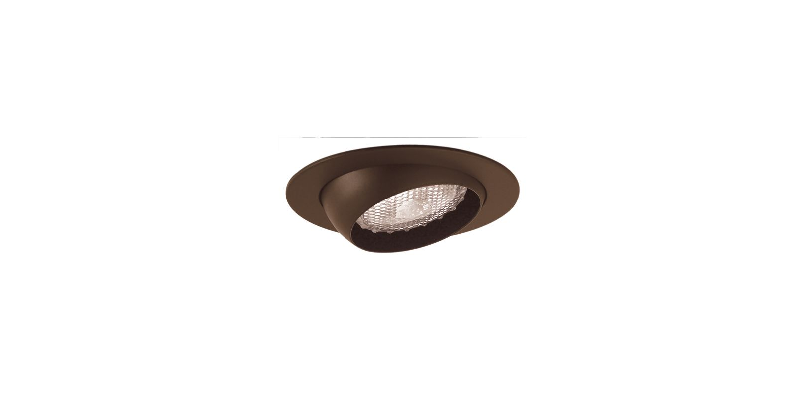 "Elco EL998 4"" Eyeball Trim Bronze Recessed Lights Adjustable Trims"