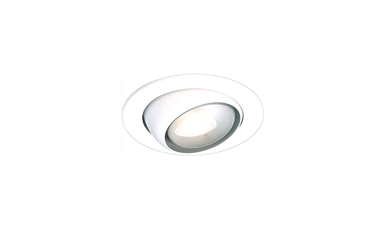 "Elco EL998 4"" Eyeball Trim White Recessed Lights Adjustable Trims"