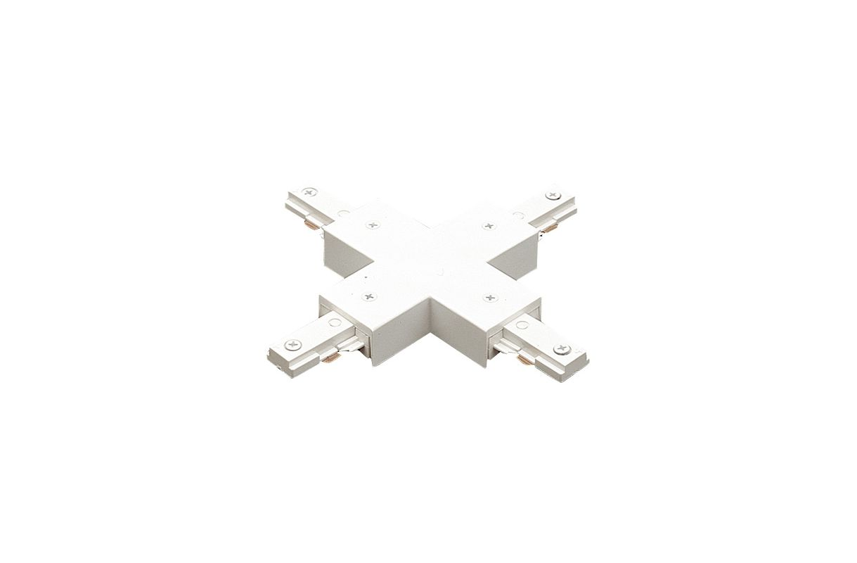 Elco EC806 X Connector for 2 Circuit Track White Indoor Lighting