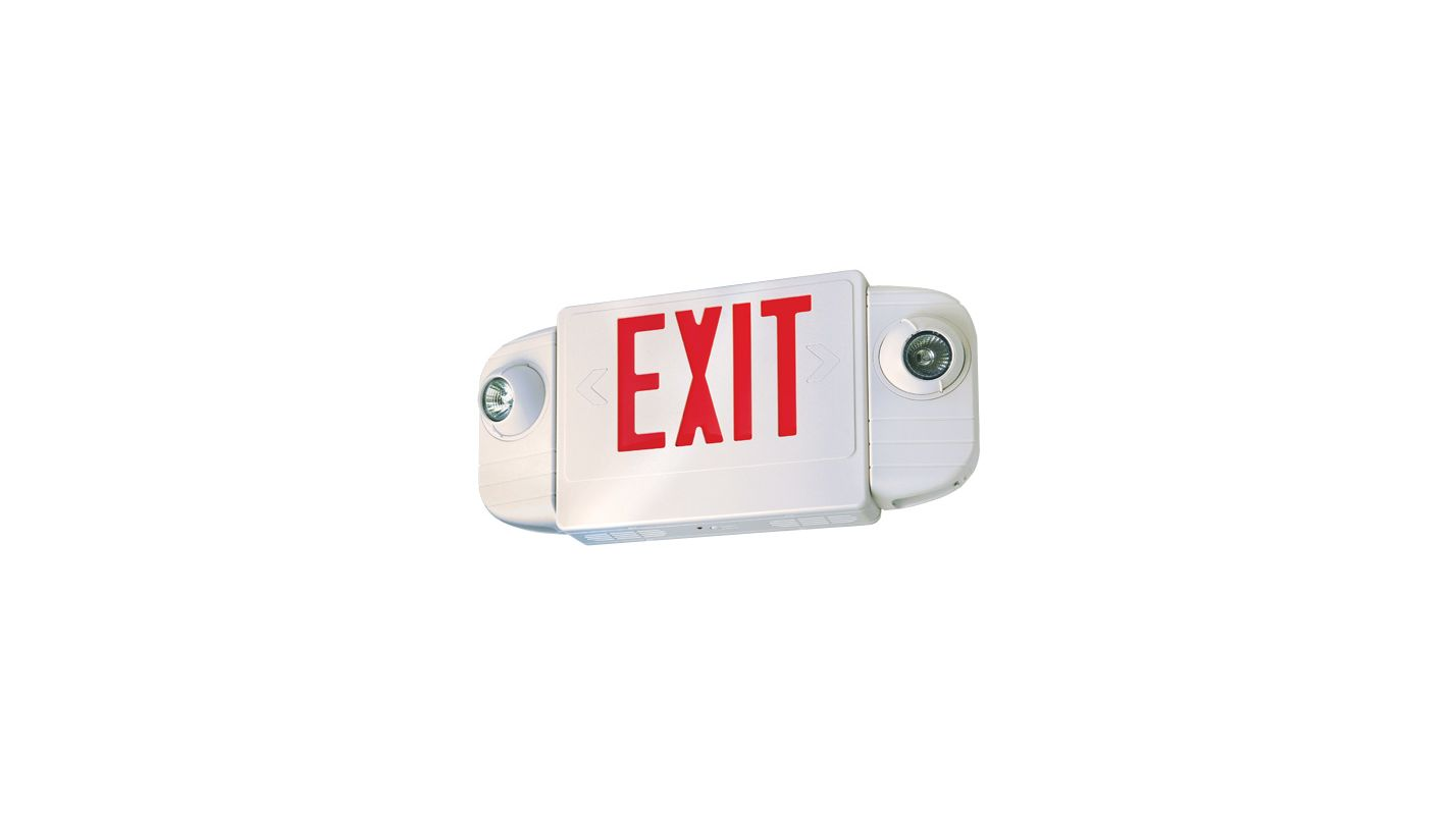 Elco EE83HR Single or Double Face Configurable LED Exit Sign with Two Sale $126.00 ITEM: bci1658932 ID#:EE83HR :