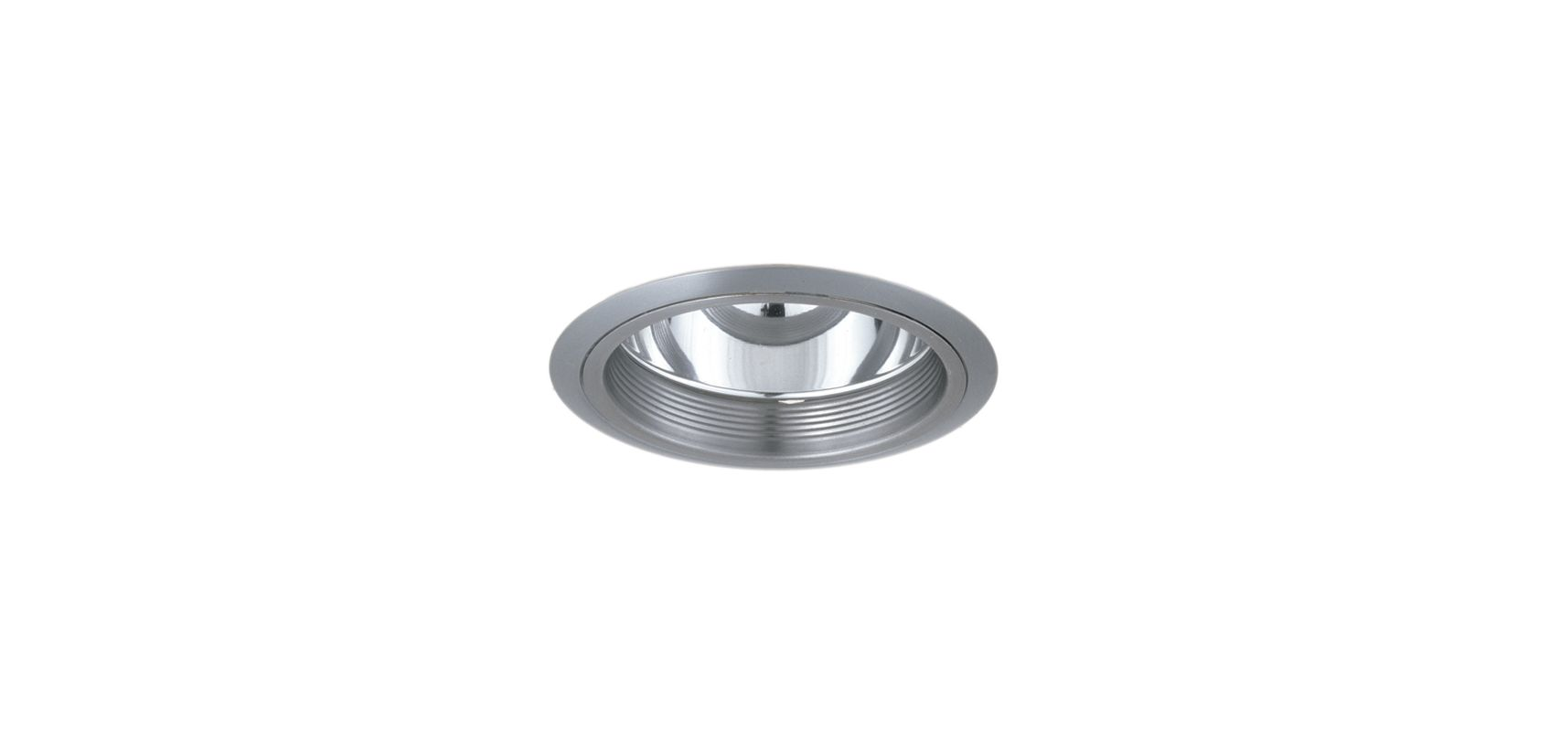 "Elco ELA102 6"" CFL Baffle with Reflector Nickel Recessed Lights Baffle"