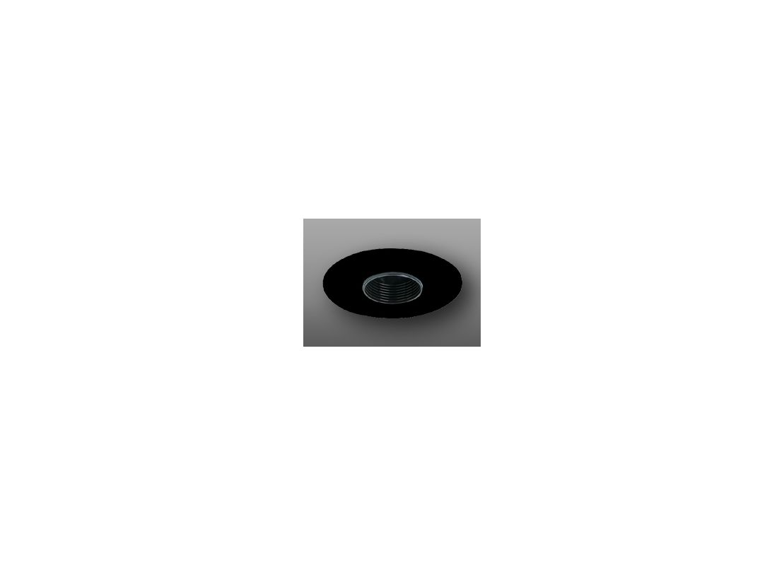 "Elco EL1419 4"" Low-Voltage Adjustable Pinhole Black Recessed Lights"