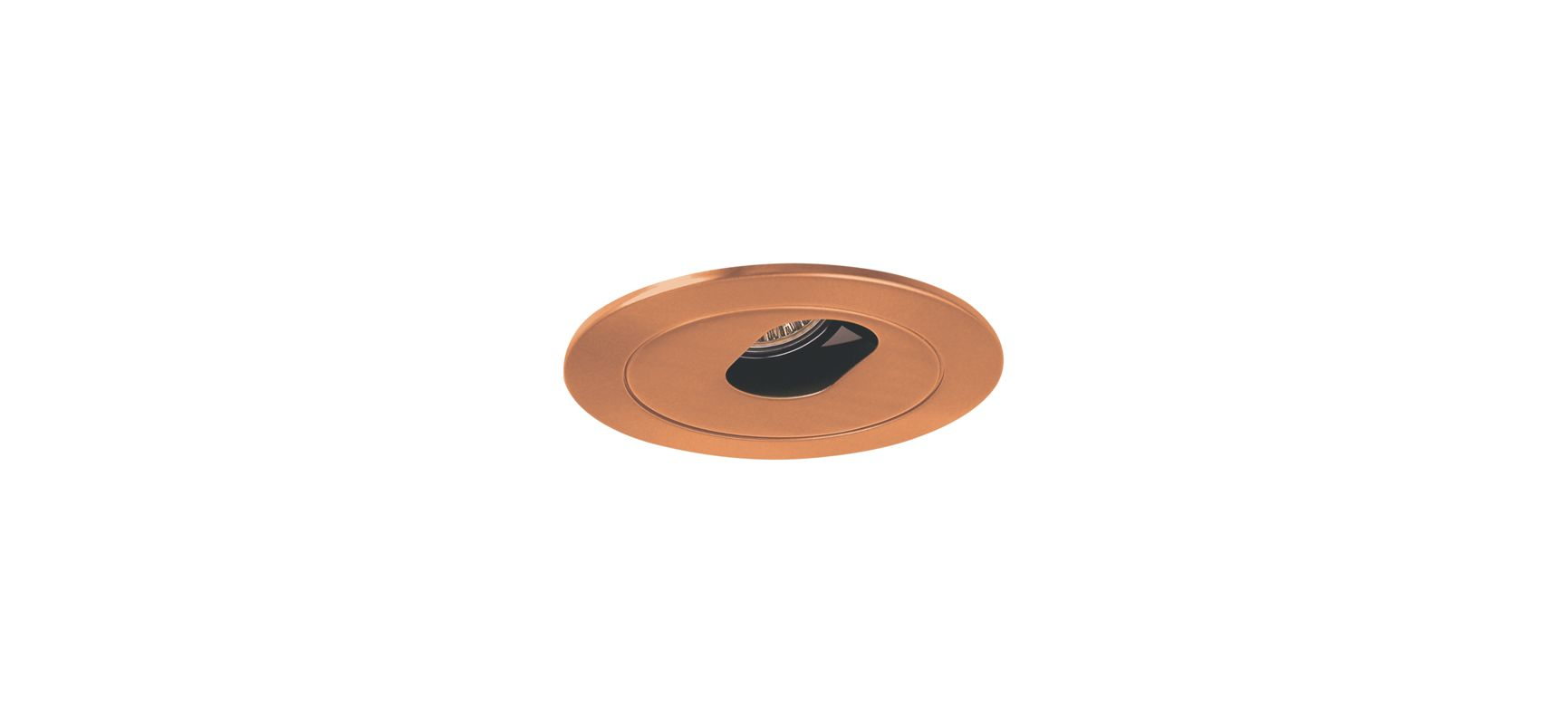 "Elco EL1420 4"" Low Voltage Adjustable Slot Aperture Copper Recessed"