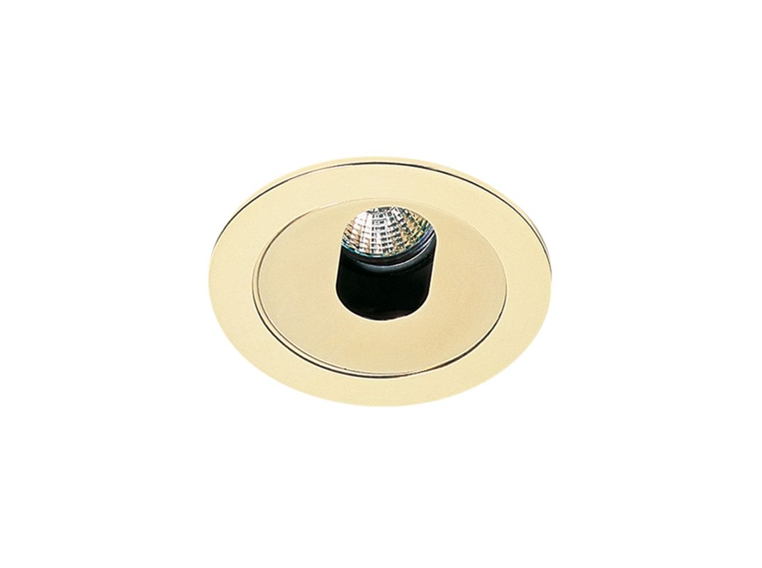 "Elco EL1420 4"" Low Voltage Adjustable Slot Aperture Gold Recessed"