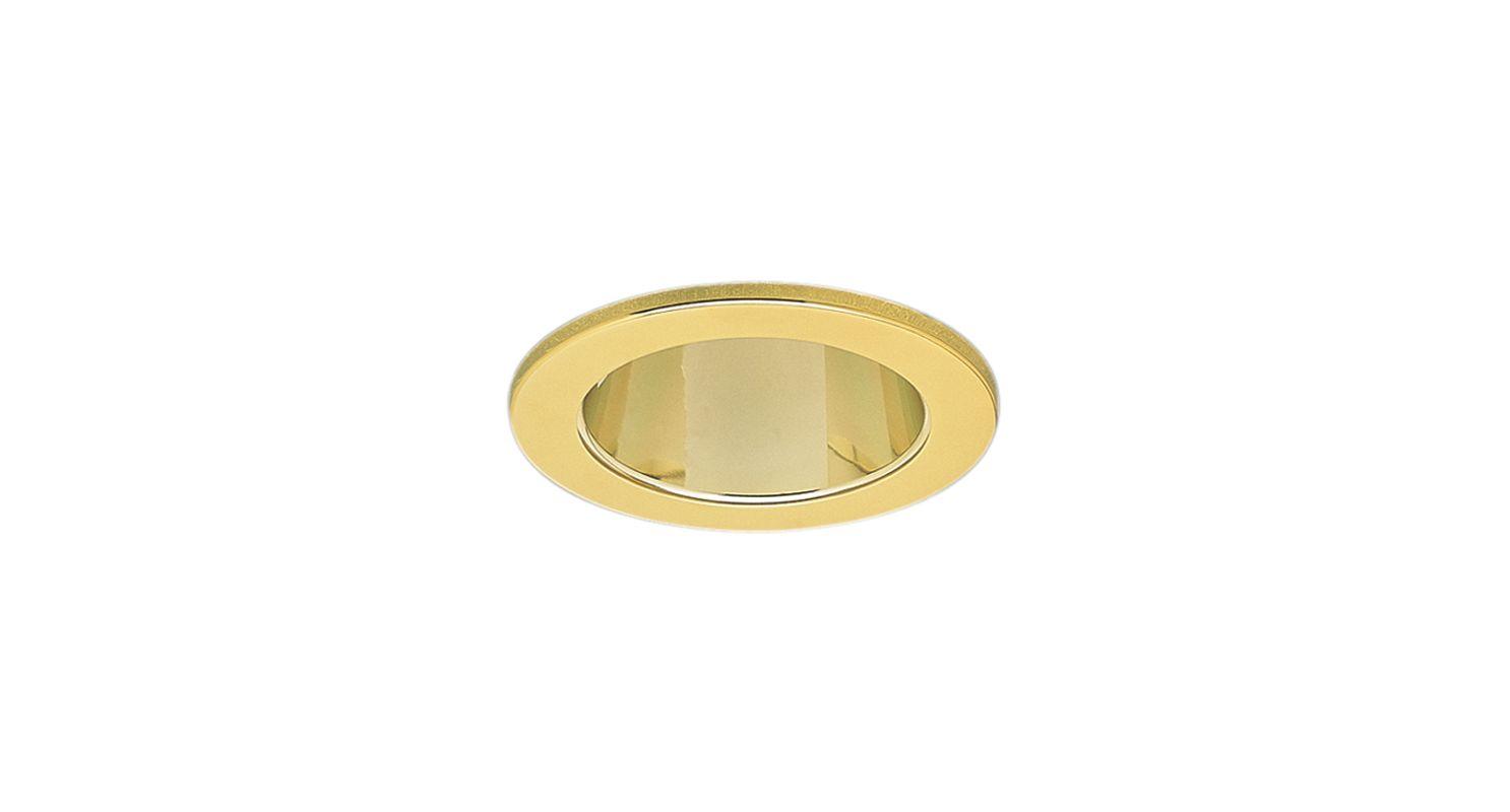 """Elco EL1421 4"""" Low-Voltage Adjustable Reflector Gold Recessed Lights"""