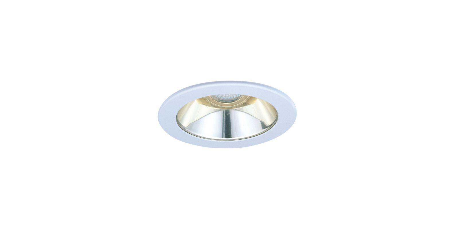 """Elco EL1421 4"""" Low-Voltage Adjustable Reflector Gold / Nickel Recessed"""