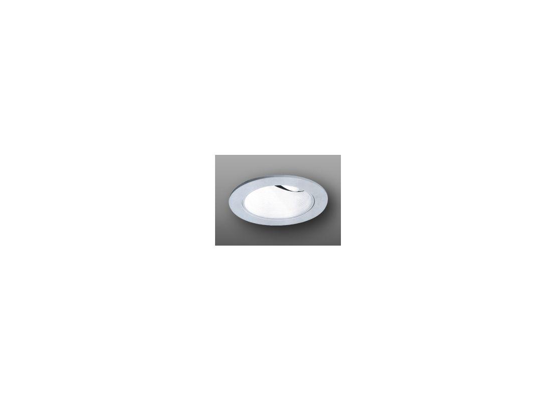 """Elco EL1424 4"""" Low-Voltage Adjustable Wall Wash with Baffle Nickel"""