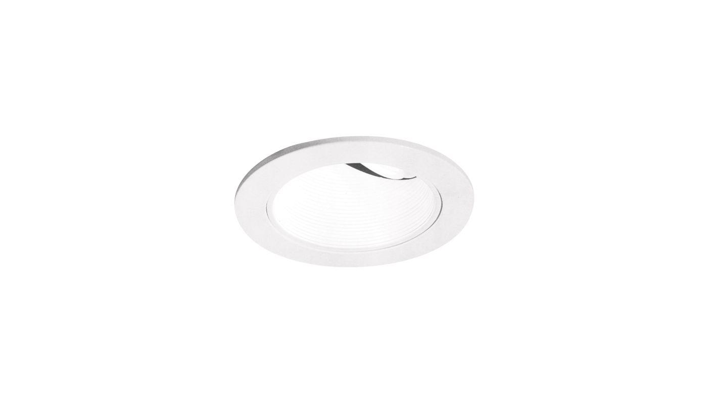 """Elco EL1424 4"""" Low-Voltage Adjustable Wall Wash with Baffle White"""