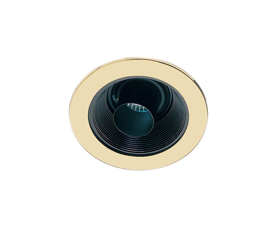 """Elco EL1431 4"""" Low-Voltage Adjustable Cylinder Snoot with Baffle Black"""